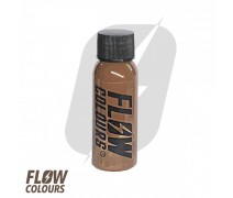 Flow Colours Brown 1 oz 30 ml Kahverengi Dövme Boyası